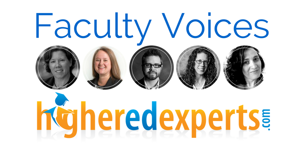 Higher Ed Experts Faculty Voice by Jessica Stutt