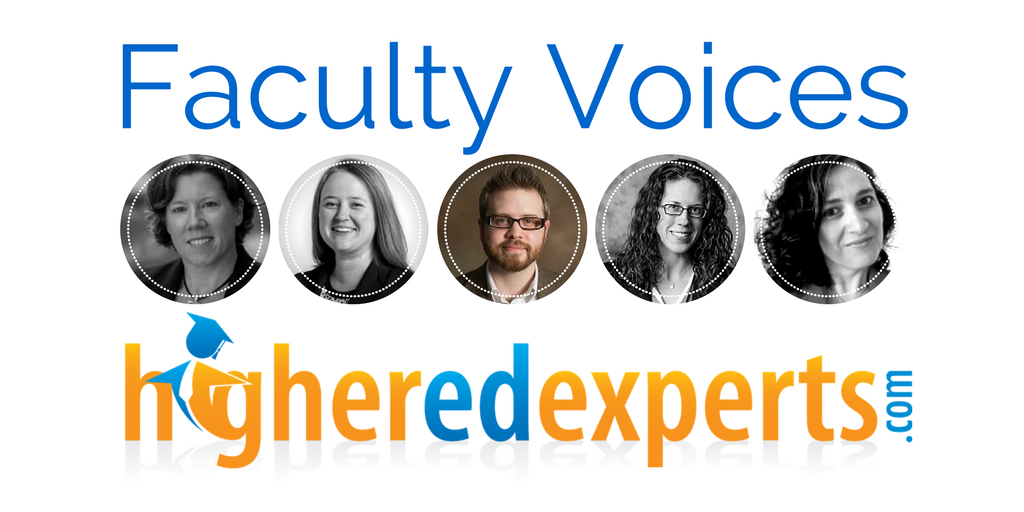 Higher Ed Experts Faculty Voices: Joshua Dodson