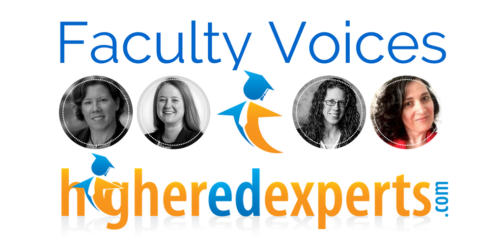 Higher Ed Experts Faculty Voice by Karine Joly